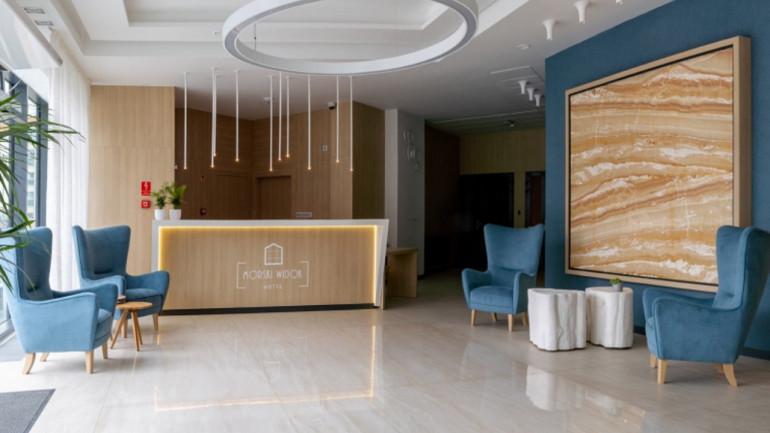 Hotel Morski Widok – nowoczesne i funkcjonalne wnętrza autorstwa Trust Us